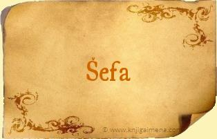 Ime Šefa