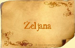 Ime Željana