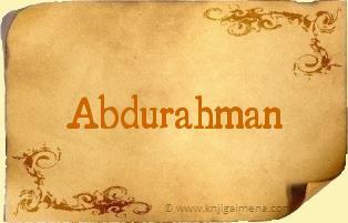 Ime Abdurahman