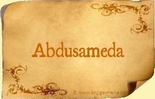 Ime Abdusameda