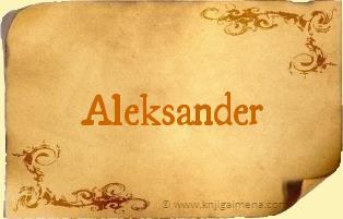 Ime Aleksander