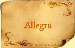 Ime Allegra