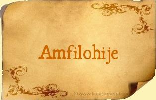Ime Amfilohije