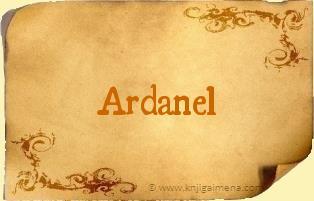 Ime Ardanel