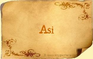 Ime Asi