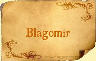 Ime Blagomir
