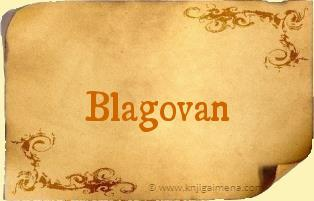Ime Blagovan