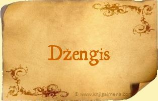 Ime Džengis