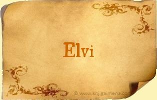 Ime Elvi
