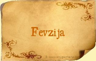 Ime Fevzija