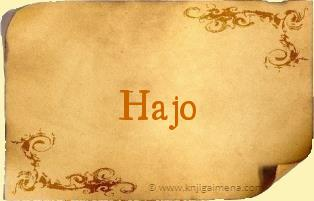 Ime Hajo