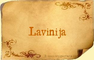 Ime Lavinija
