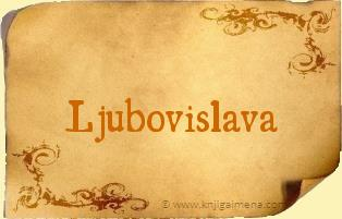 Ime Ljubovislava