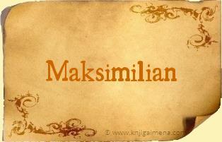 Ime Maksimilian