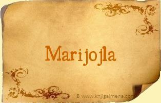 Ime Marijojla