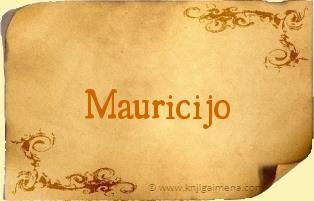 Ime Mauricijo
