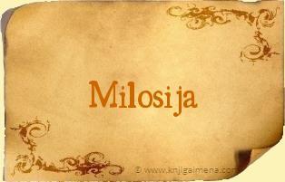 Ime Milosija
