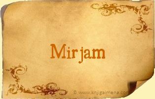 Ime Mirjam