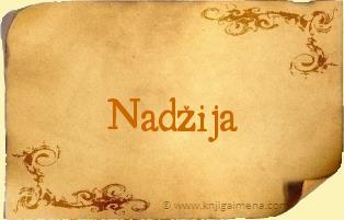 Ime Nadžija