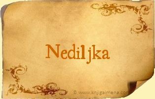 Ime Nediljka