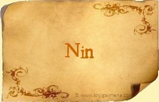 Ime Nin