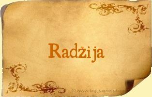 Ime Radžija