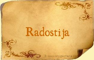 Ime Radostija