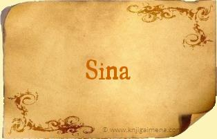 Ime Sina