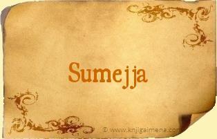 Ime Sumejja