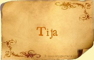 Ime Tija