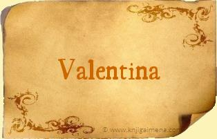 Ime Valentina