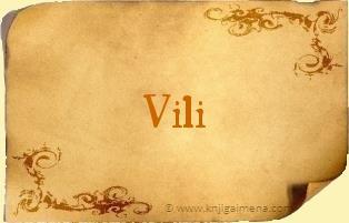 Ime Vili