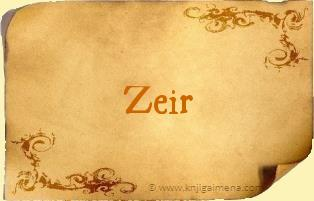 Ime Zeir