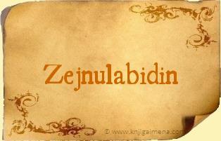 Ime Zejnulabidin